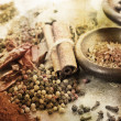 Grunge Image Of Spices — Stock Photo