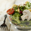 Fresh Salad Bowl — Stock Photo