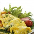 Stock Photo: Omelet With Vegetables