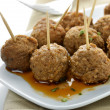 Meatball Appetizers — Stock Photo #17433033