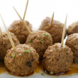 Meatball Appetizers — Stock Photo #17720563