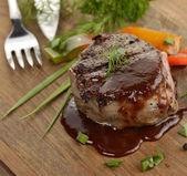 牛肉牛排 — 图库照片