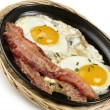 Eggs And Bacon - Stock Photo