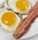Fried Eggs And Bacon — Stock Photo