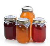 Homemade Marmalade,Jam And Honey — Stock Photo
