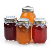 Homemade Marmalade,Jam And Honey — Stock Photo