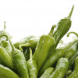 Fresh Green Bell Pepper - Stock Photo