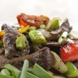 Stock Photo: Beef Meat With Vegetables
