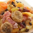 Dried Tropical Fruits Mix - Stock Photo