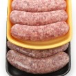 Raw Bratwurst — Stock Photo