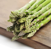 Fresh Green Asparagus — Stockfoto