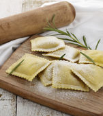Homemade Ravioli — Stock fotografie