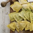 Homemade Ravioli Assortment — Stock Photo