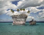 熱帯の島 — ストック写真