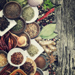 Spices And Herbs — Stock Photo #36020157