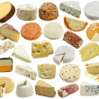 Stock Photo: Cheese Collection
