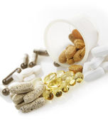 Variety Of Vitamins — Stock Photo