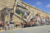 Lake Placid ,Florida-December 30: Lake Placid Is Town of Murals — Stock Photo