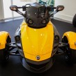 Stock Photo: BANGKOK - SEPTEMBER 22: Can-Am Spyder RS Roadster on display