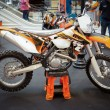 BANGKOK - SEPTEMBER 22: KTM 500 EXC, Enduro on display at th — Stock Photo #14216733