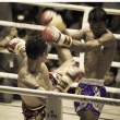 BANGKOK, THAILAND- OCTOBER 04 : Unidentified boxers compete in T — Stock Photo