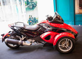 BANGKOK - SEPTEMBER 22: The Can-Am Spyder RS Roadster on display — ストック写真