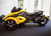BANGKOK - SEPTEMBER 22: The Can-Am Spyder RS Roadster on display — Stok fotoğraf