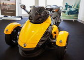 BANGKOK - SEPTEMBER 22: The Can-Am Spyder RS Roadster on display — Zdjęcie stockowe