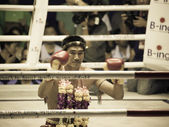 BANGKOK, THAILAND- OCTOBER 04 : Unidentified boxers compete in T — Stock fotografie