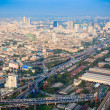 Cityscape, Bangkok bird eye view — Stock Photo