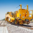 Train service and railway track - Stockfoto