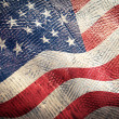 American flag grunge — Stock Photo #22354023
