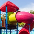 Colorful children playground — Stock Photo