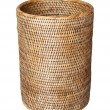 Basket, weave pattern — Stock Photo