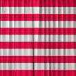 Liberia flag on curtain — Stock Photo