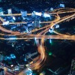 Cityscape traffic night — Foto de Stock