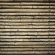 Stock Photo: Bamboo fence background