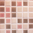 Glass mosaic tiles in the bathroom — Stock Photo
