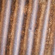 Stock Photo: Rusty zinc background