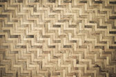 Bamboo wooden weave texture background — Stockfoto