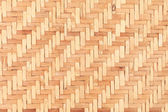 Bamboo wooden weave texture background — Stock fotografie