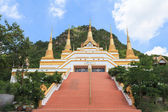 "Temple names ""Wat Tham Phra That Khao Prang"", Lopburi Thailand — Stock Photo"