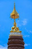 Buddha image, Phasornkaew Temple ,that place for meditation that — Stock Photo