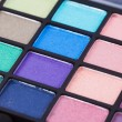 Colorful cosmetic set and makeup — Stock Photo #50718721