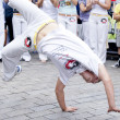 Warsaw, august 26, 2012,-Capoeira on Warsaw Multicultural Street Parade - Stock Photo