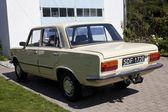 "WARSAW - August 25: Old polish car ""Fiat 125p"" on motobazaar. August 25, 2013 in Warsaw, Poland. — Stock Photo"