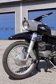 "WARSAW - August 25: Old polish motorcycle ""Gazela"" on motobazaar. August 25, 2013 in Warsaw, Poland. — ストック写真"