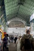 ODESSA, UKRAINE - NOVEMBER 4: bazaar interior on November 4, 2012 in Odessa, Ukraine. — Foto de Stock