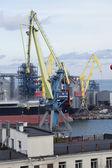 ODESSA, UKRAINE - NOVEMBER 4: the Port of Odessa on November 4, 2012 in Odessa, Ukraine. — Foto de Stock