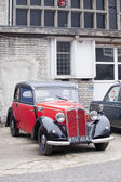 WARSAW - September 28: Old car DKW on Oldtimers meeting.September 28, 2013 in Warsaw, Poland. — Stockfoto